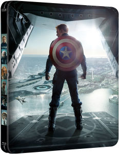 Captain America: The Winter Soldier 3D - Steelbook Exclusivo de Zavvi (Edición Limitada) (Incluye Versión 2D)