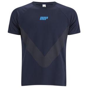Camiseta de Manga Corta Myprotein Running - Azul Marino