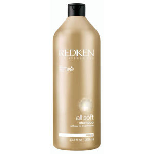 Champú alisante Redken All Soft de 1000 ml con dosificador incluido - (45,50 £)