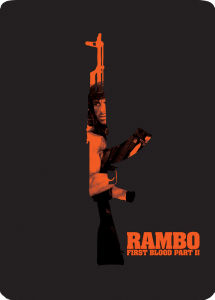 Rambo: First Blood Part II - Zavvi Exclusive Limited Edition Steelbook (UK EDITION)