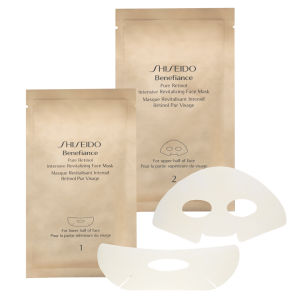 Benefiance Pure Retinol Intensive Revitalizing Face Mask de Shiseido x 4 sachets