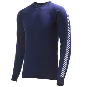 Helly Hansen Men's Dry Stripe Crew - Navy