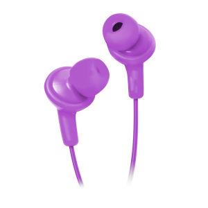 HMDX Jam Premium Geräusch-isolierende Ohrhörer - Lila