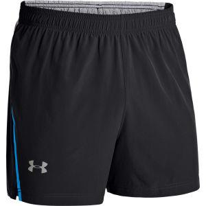 Under Armour Men's Max Vent Run Shorts - Black/Electric Blue/Reflective