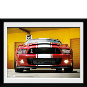 Ford Shelby GT500 Front - 8x6 Framed Photographic