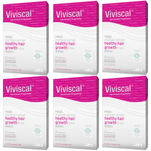 Viviscal Max Hair Growth Supplement (6 x 60) (6 mois d'approvisionnement)