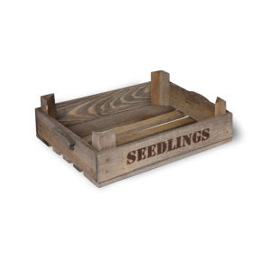 Garden Trading Wooden Seedling Tray