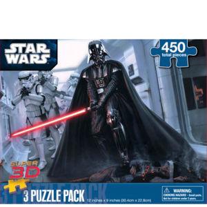 Star Wars Super 3D 3 Assorted Puzzles