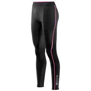 Skins Women's A200 Long Tights - Black/Pink