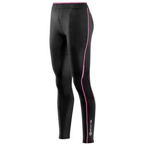 Skins Women's A200 Long Tights - Black/Pink