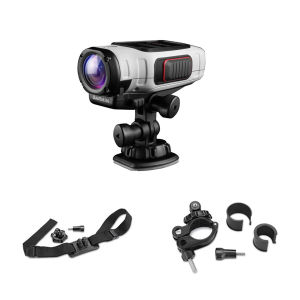 Garmin Virb Elite GPS 16MP 1080p Action Camera Bike Bundle