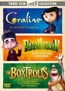 Coraline/Paranorman/The Boxtrolls Box Set