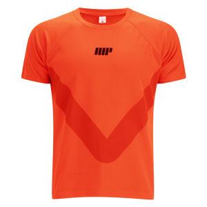 Camiseta de Manga Corta Myprotein Running - Naranja