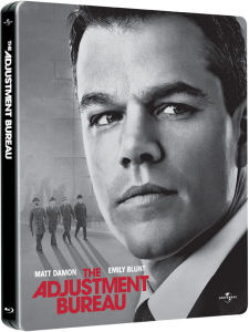 The Adjustment Bureau - Limited Edition Steelbook: Triple Play (Includes Blu-Ray, DVD and Digital Copy)