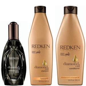 Redken Diamond Oil Shatterproof Shine Intense Collection
