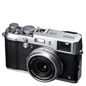 Fujifilm X100s Kompakt Digitalkamera (HD 1080p, 16MP, Dual Viewfinder, 2.8 Zoll LCD) - Silber