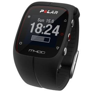 Polar M400 GPS Sports Watch - Black