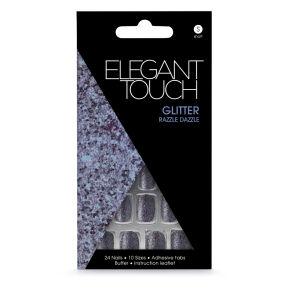 Elegant Touch Glitter Nails - Razzle Dazzle