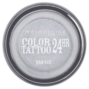 Maybelline New York Eyestudio Colour Tattoo 24 Hour Cream Gel Shadow - Eternal Silver 50