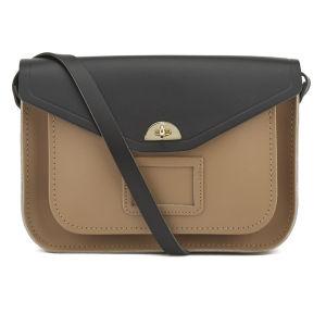 The Cambridge Satchel Company Women's Shoulder Bag Satchel - Strap Black/Biscuit: Image 1