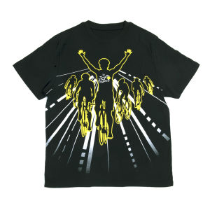 Tour De France Winner Graphic T-Shirt - Black