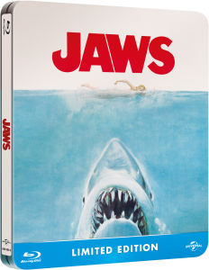 Jaws - Limited Edition Steelbook (Includes Digital and UltraViolet Copies)