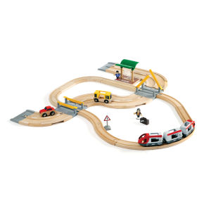 Brio Road and Rail Travel Set