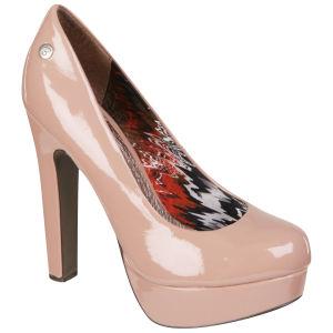 Blink Women's Patent Heels - Light Pink