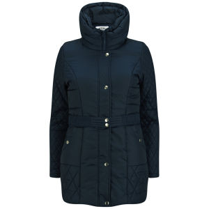 Vero Moda Women's Ludo Coat - Black Iris