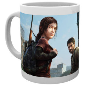 The Last of Us Ellie and Joel Mug