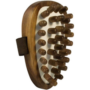 HYDREA LONDON WALNUT WOOD CELLULITE MASSAGER