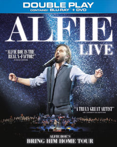 Alfie Boe Live: The Bring Him Home Tour - Double Play (Blu-Ray and DVD)