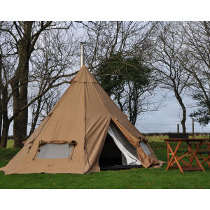 Two Night Tipi Camping Break at Woodovis Park