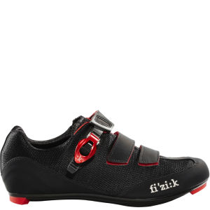 Fizik R5 Road Shoe - Black/Red