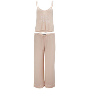 Wildfox Women's Need Coffee Cami and Pant Set - Pink