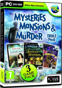 Mysteries, Mansions and Murder - Triple Pack