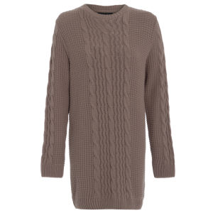 Damned Delux Women's Caggi Knitted Jumper - Mouse
