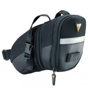 Topeak Wedge Aero Saddlebag With Strap - Medium