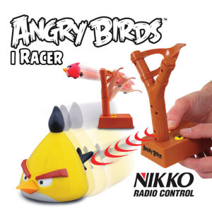 Nikko: Angry Birds Infrared Control iRacer - Yellow