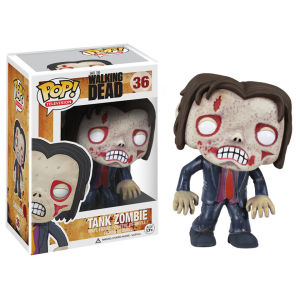 The Walking Dead Tank Zombie Pop! Vinyl Figur