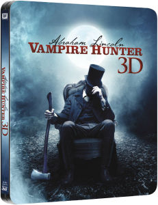 Abraham Lincoln Vampire Hunter 3D (Includes 2D Version) - Zavvi Exclusive Limited Edition Steelbook (UK EDITION)