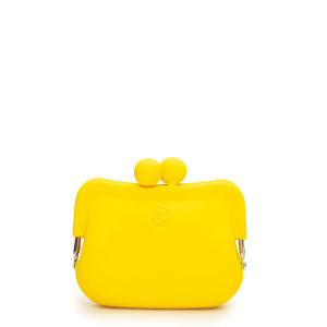 Candy Store Women's Silicone Coin Purse - Yellow