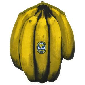 Guante para el horno en forma de plátanos