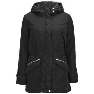 ONLY Women's Fever Parka Coat - Black