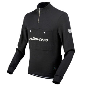 Nalini Pro Gara Croviana Long Sleeve Jersey - Black