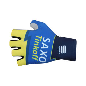Saxo Bank Tinkoff Bank Team Aero Race Mitts - 2013