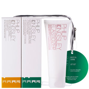 Set productos suavidad y volumen Philip Kingsley Jet Set