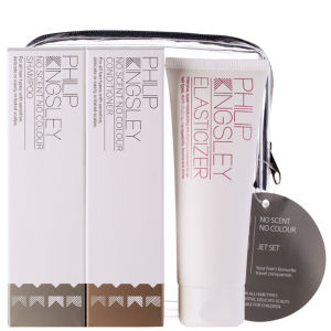 Set productos para el cabello sin perfume ni colorantes Philip Kingsley Jet Set No Scent No Colour (3 productos)