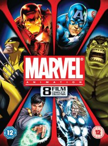 Marvel Complete Animation Collection - 8 Films (Met: Iron Man, Thor, Hulk, Captain America, Wolverine, Avengers)