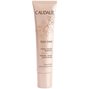 Hidratante con color Caudalie Teint Divin - piel clara/media (30ml)